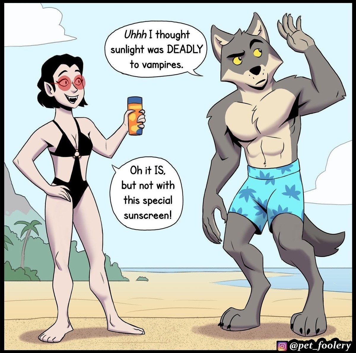 Procreation of the Wicked. .. It is overwhelmingly obvious that the author is a furry