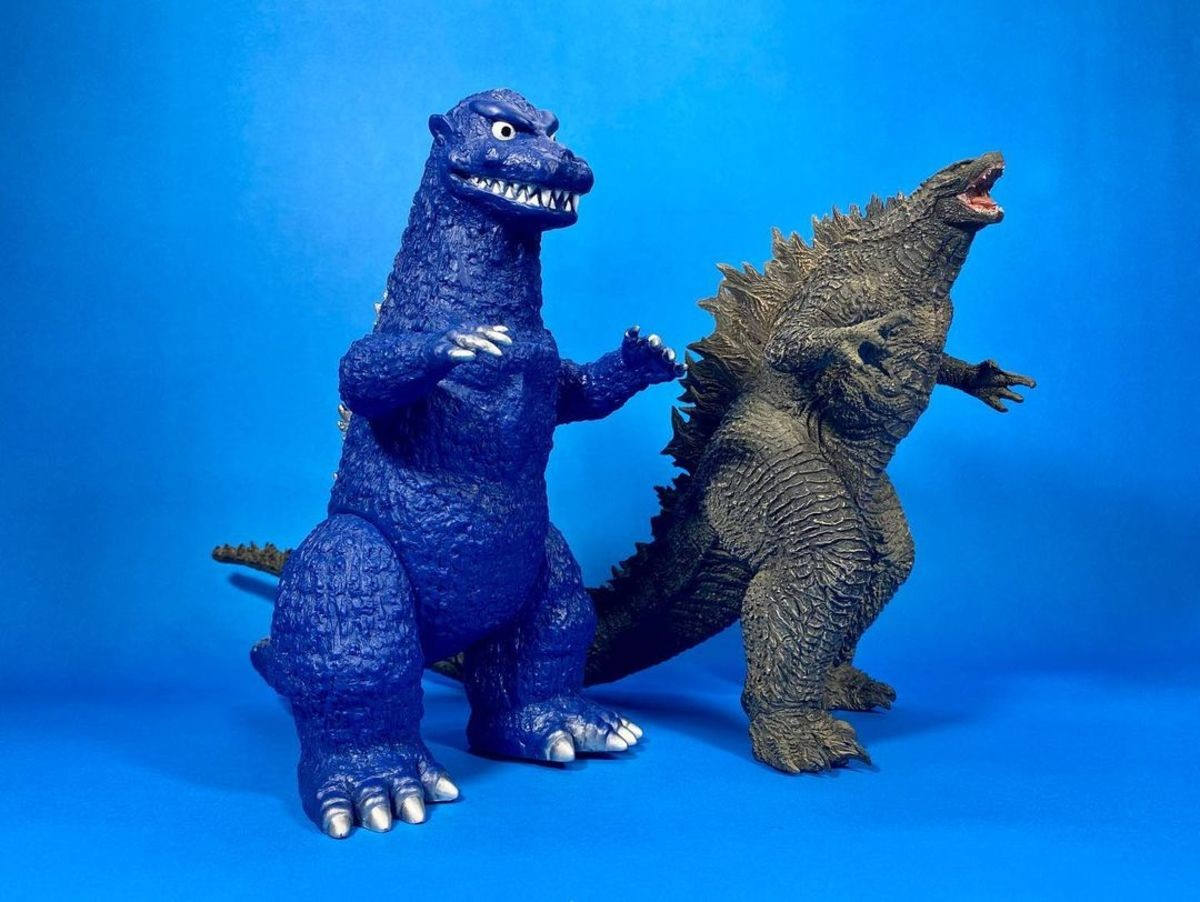 RANDOM PICTURE COMP!. .. Fun fact Godzilla was actually about slit this guys throat for a jihadist video when his chinese overlord told him to stand down