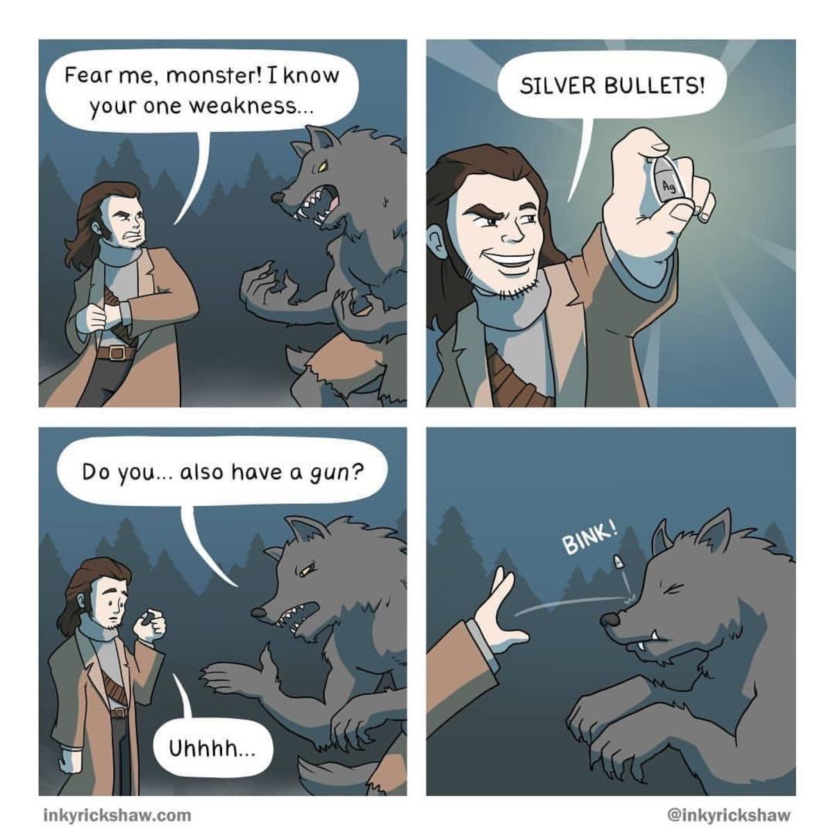 registering Spider. .. No bulli werewuff