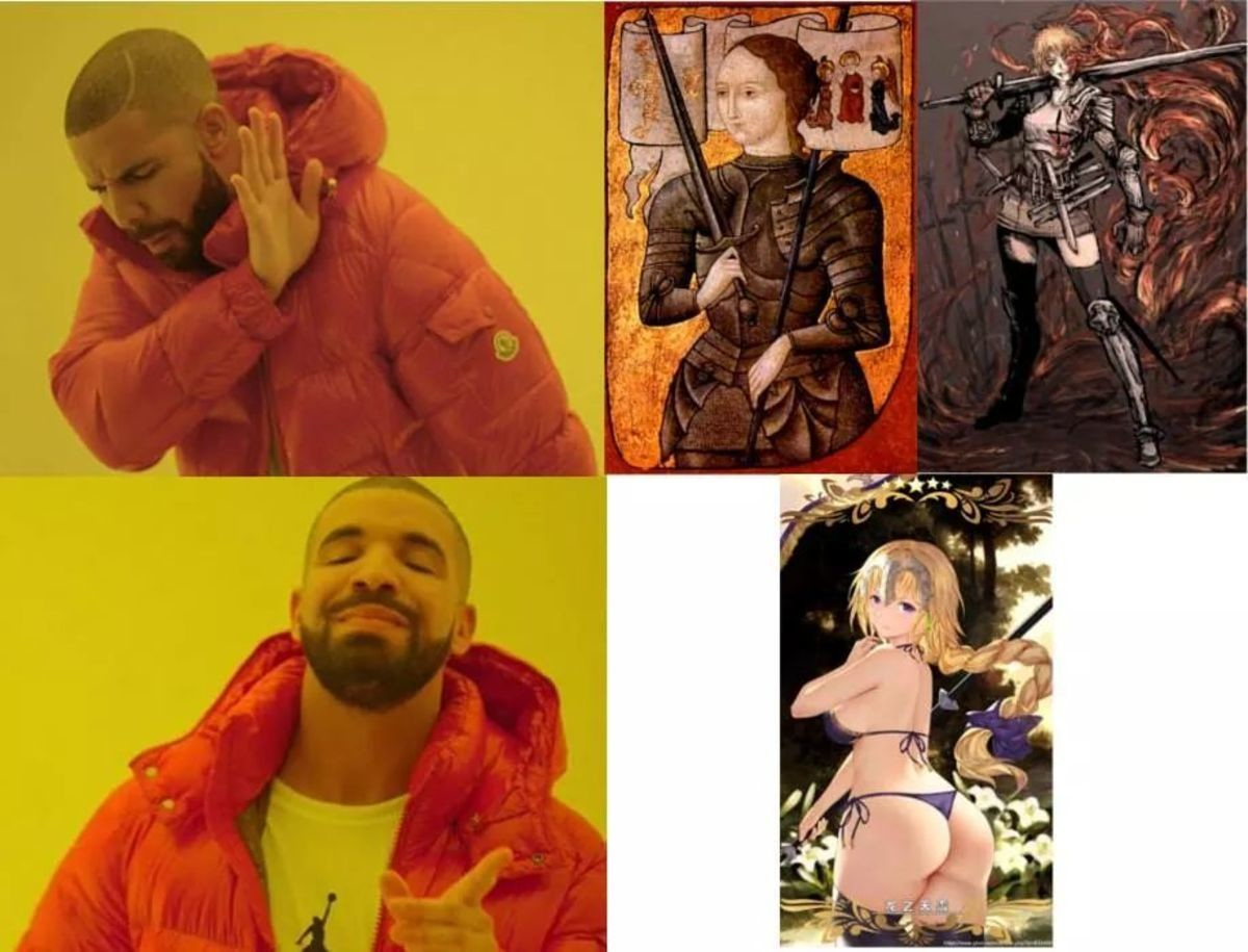 Remember Jeanne. join list: ThiccThighs (4608 subs)Mention History join list:. >not wanting the women completely clad in armor like a true fighter BEGON THOT!