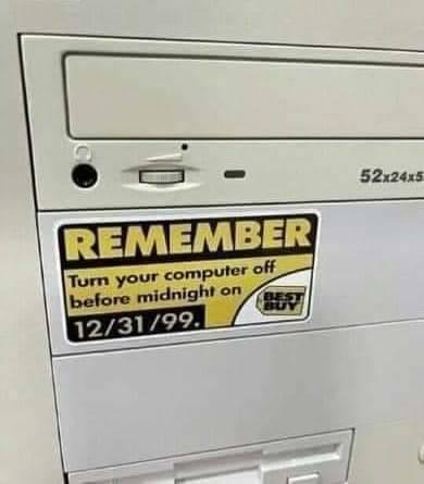 Remember Y2K. .. 2038 problem