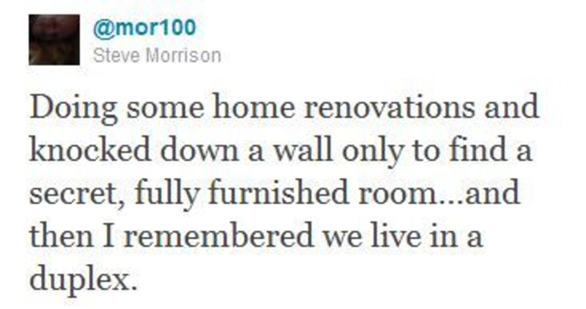 """""""Renovations"""". .. Take it over, claim imminent domain. Pee on the front door to assume dominance."""