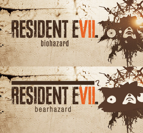Resident evil 7's logo looks like a bear. join list: VideoGameHumor (1696 subs)Mention Clicks: 608364Msgs Sent: 5990550Mention History.. wasn't it res 6 that had the logo that looked like a woman sucking off an anthromorphic giraffe?