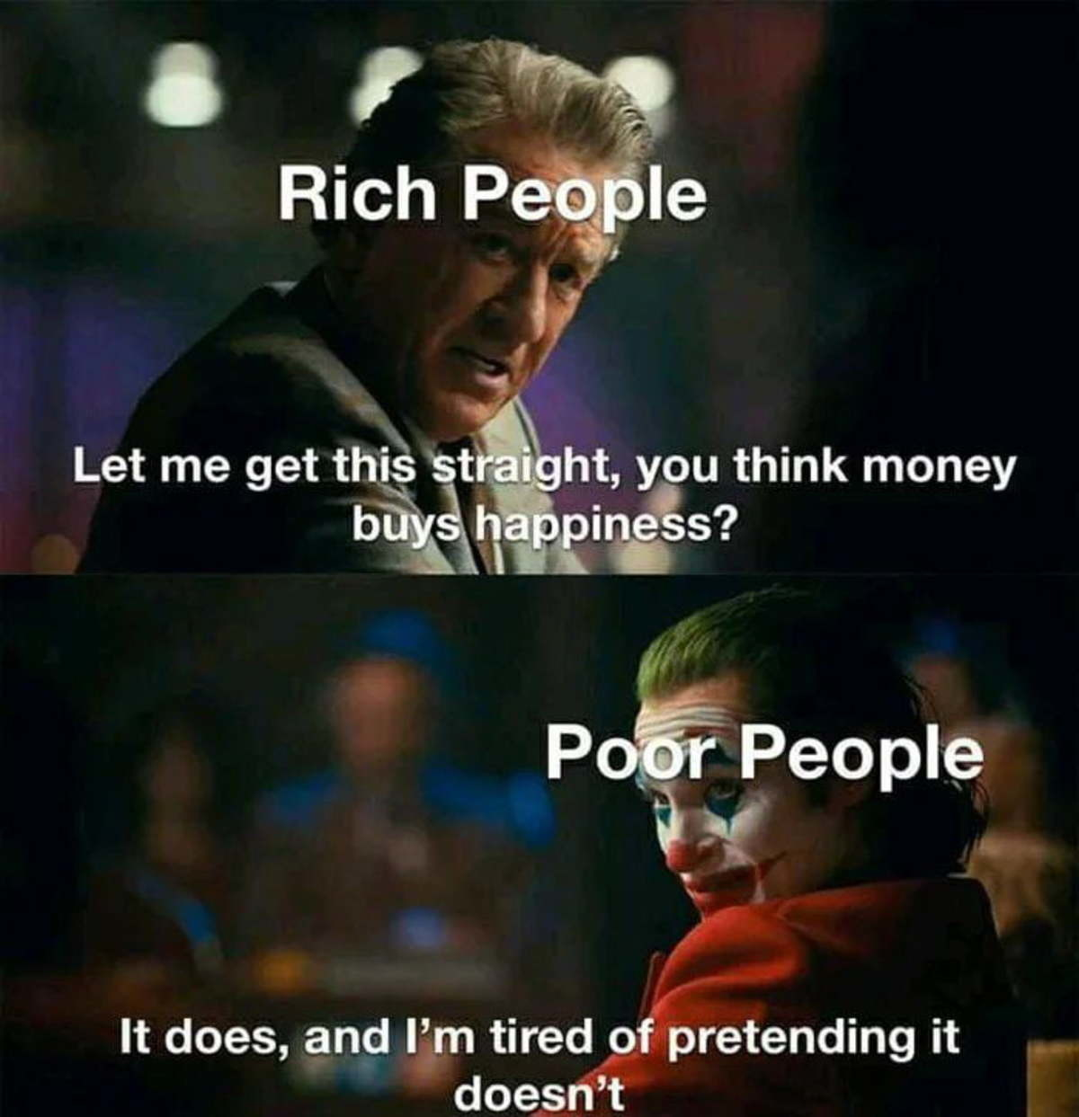retaliatory Gerbil. .. Freedom buys happiness. Workers are ruled by rich blokes. Rich people are dumb as , seeing as they invite other rich people to run their lives with their excess