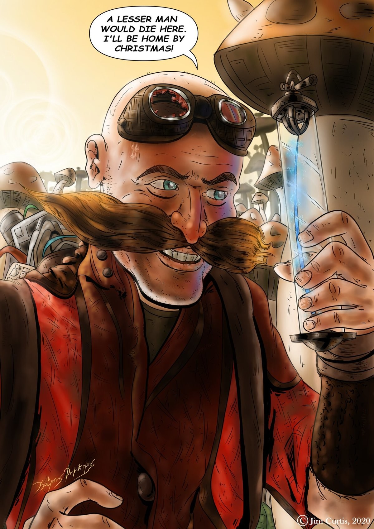Return of the King. .. NGL, really am excited to see Jim Carrey go full Eggman.
