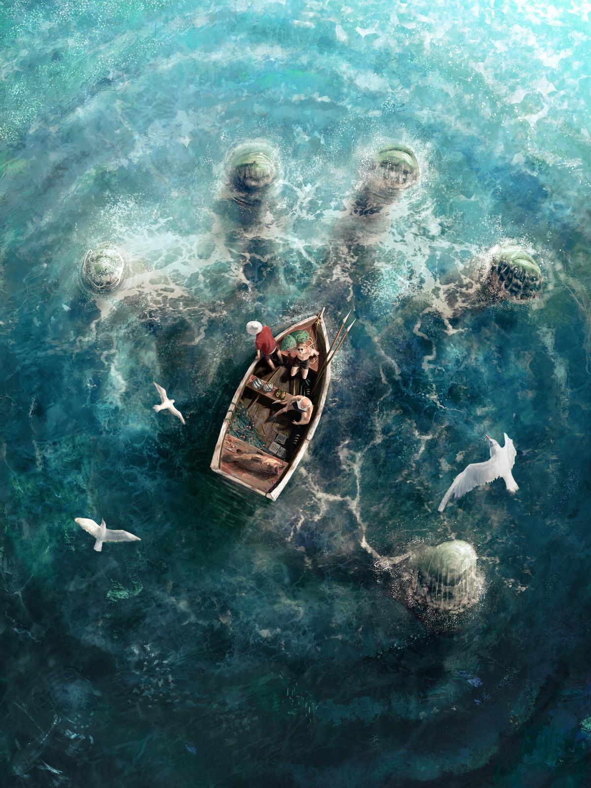 Rise of Cthulhu by Randi Sánchez Verduga. .. That hits my nope buttom