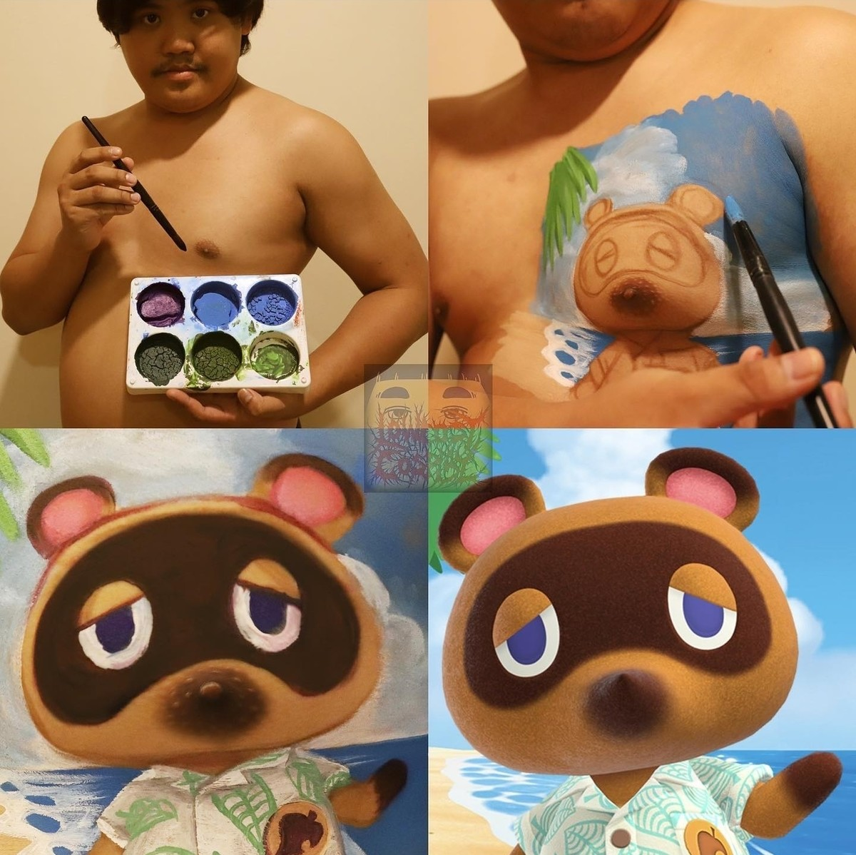 Rosebud. .. Nintendo stole this man's nipples what the hell