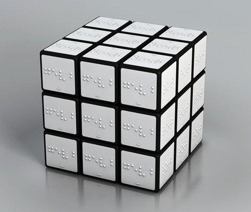 rubiks cube. now for the blinde peeps!.