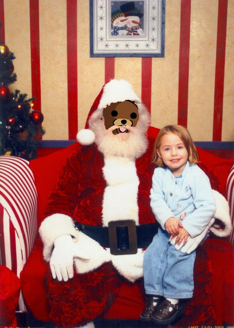 Santa. check out my other OC.. So, do you want the gift? Come to my van in one hour.