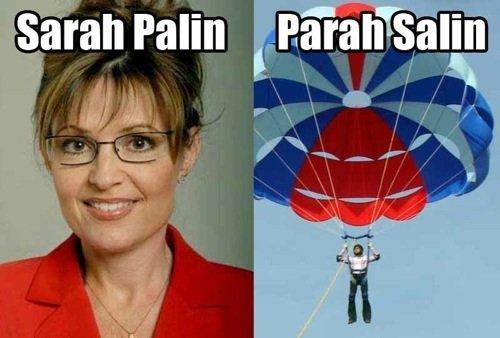 Sarah Palin. .. A dyslexic man walks into a bra.