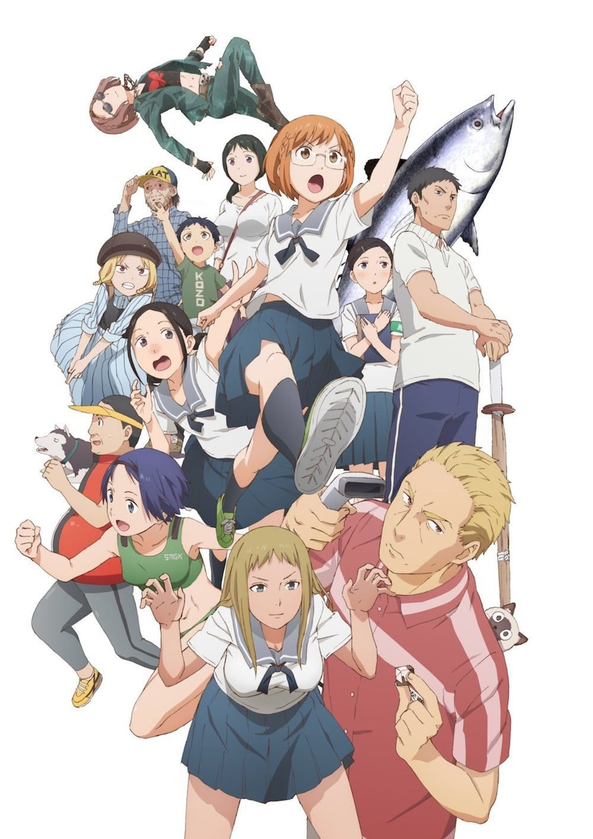 Satania Is Back This Anime Season!?. well sort of Chio chan no tsuugakuro same main va as satania and even looks similar About a unsociable girl going to school