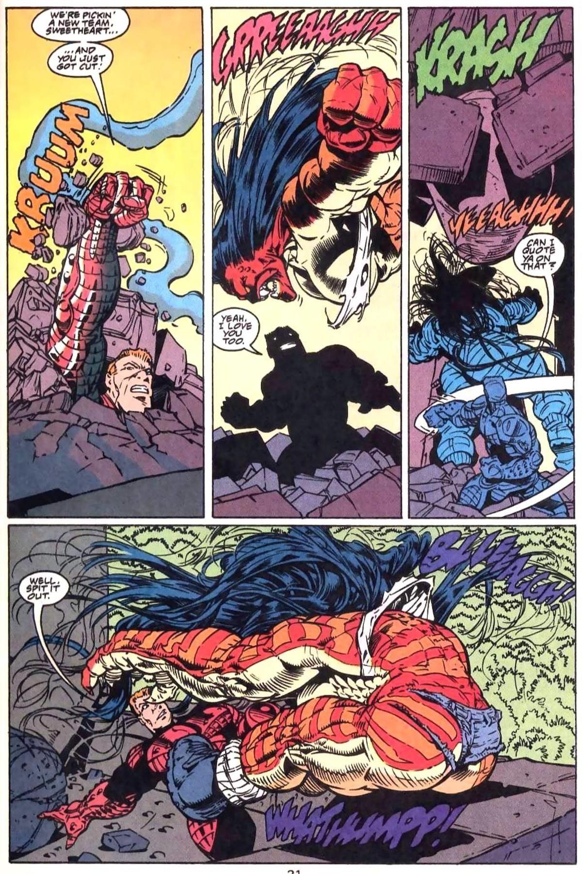 Sauce?. join list: Weirdfetishthings (1187 subs)Mention History.. Guy Gardner: Warrior Issue #23