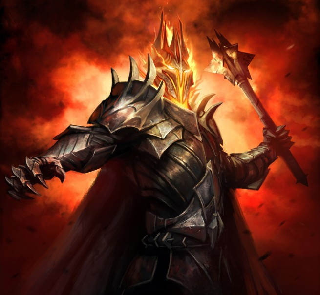 Sauron in Westeros. Sauron Arrives in Westeros The dark banners unfurled as the final victory over the forces of humanity was achieved by the dark lord and his