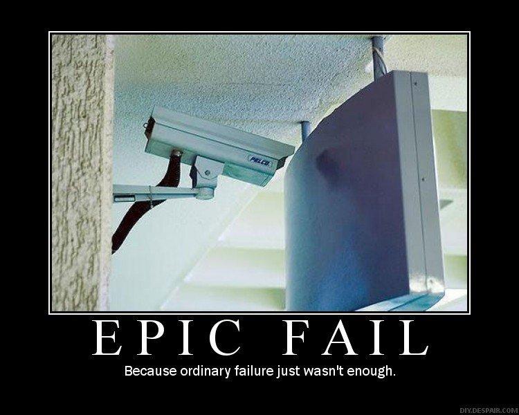 Security Camera Fail. ahahhaha lol.. REPOST!!!!!!!!!