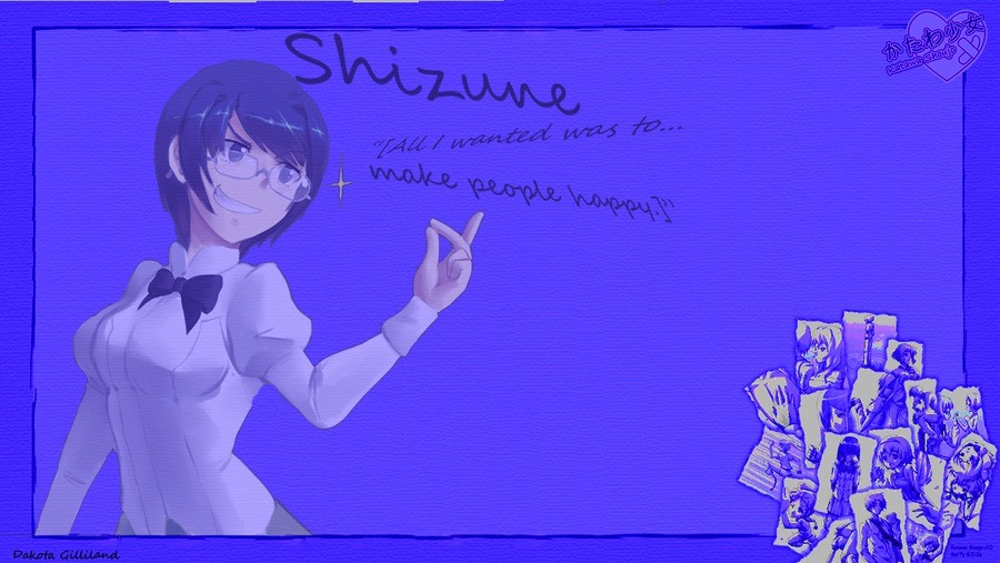 Shizune background. .