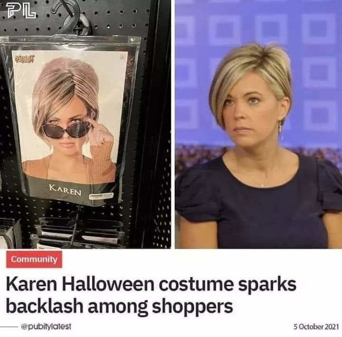 shoppers? you mean karens. .. And what kind of shoppers were they?