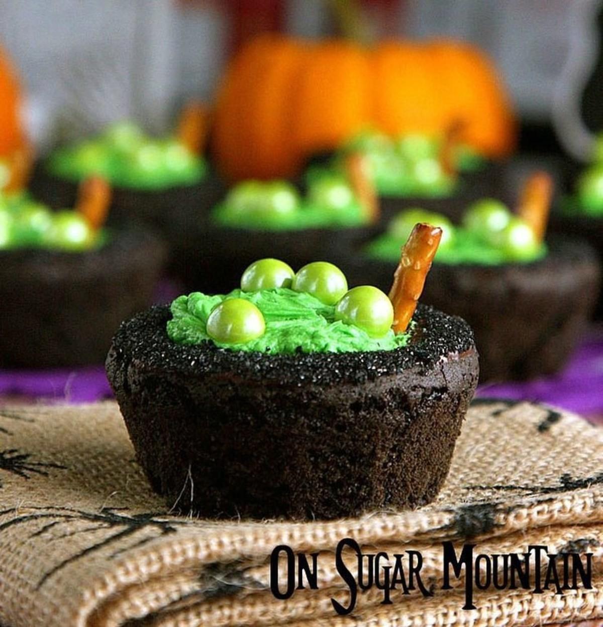 Spooky food. ..