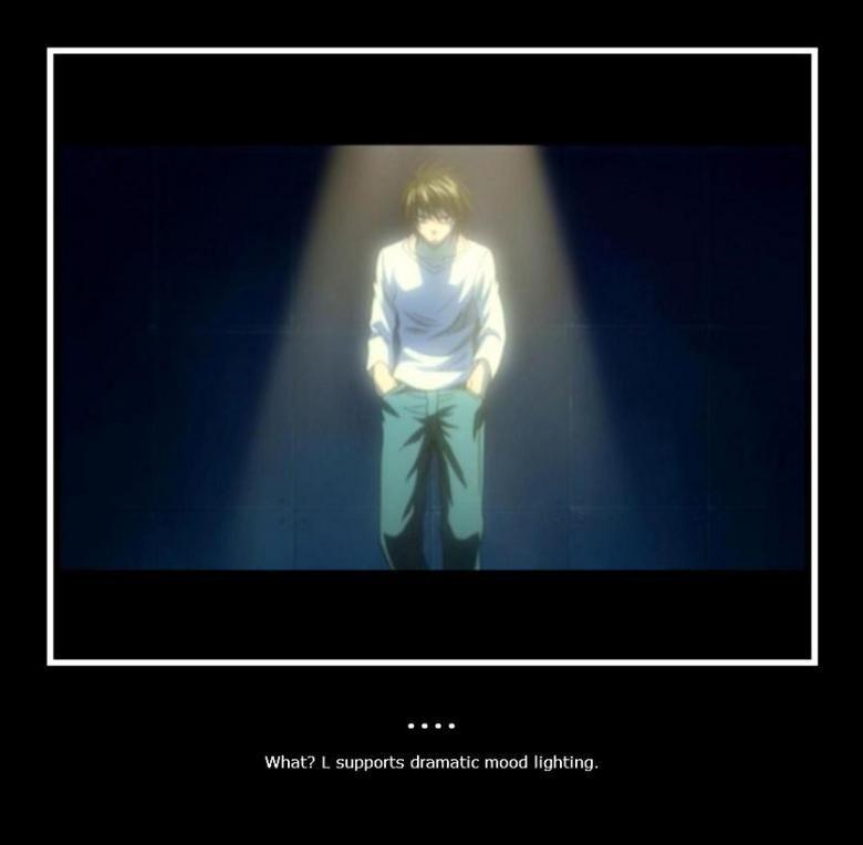 Spotlights. Still cant beat Kira, though. <3.