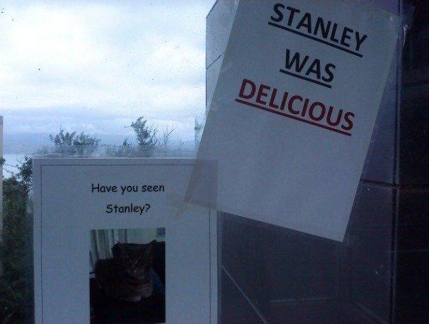 Stanley. Woah.. dericious