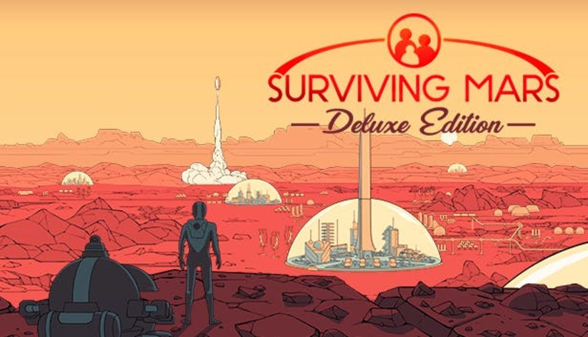 surviving mars DELUX. available through humble bundle now until June 14th .. FYI even if you have the normal game, it works as an upgrade to the deluxe version, giving you some paint options and a new radio station