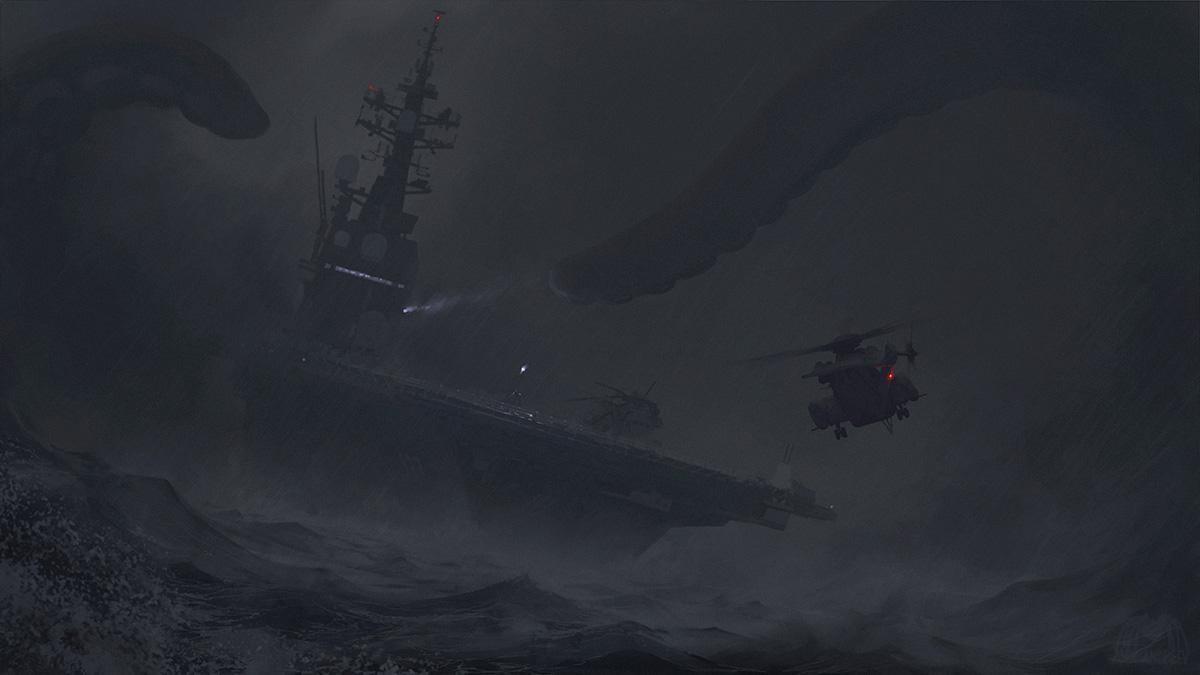 Storm by alexandreev. .. >raiding the fridge at 3 am
