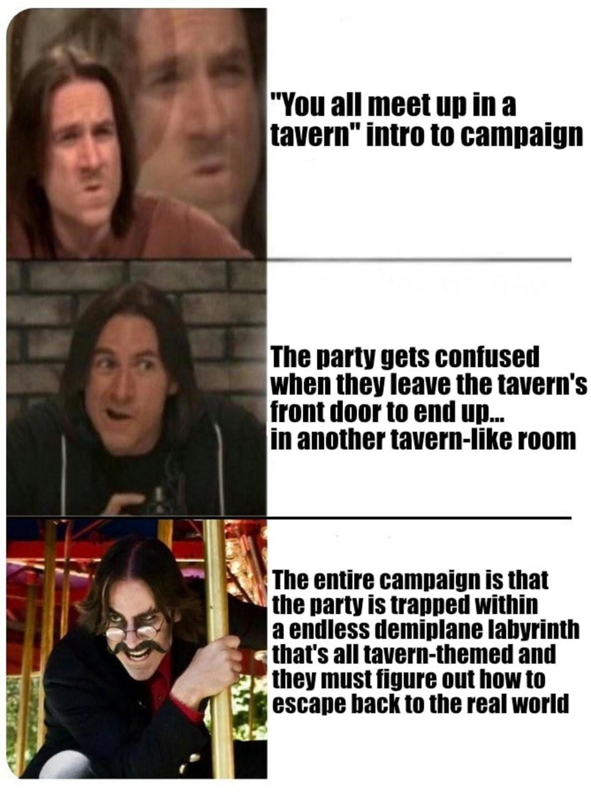 Tavern labyrinth. .. Descent into Tavernus