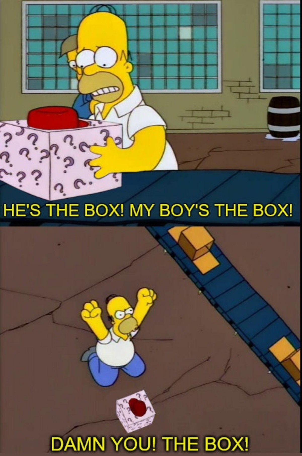 """the box posting. .. So first of all... Season 5 - Episode 12, """"Bart Gets Famous"""" Second of all, it's pissing my autistic brain off that the word(Letter) 'A' is replaced a"""