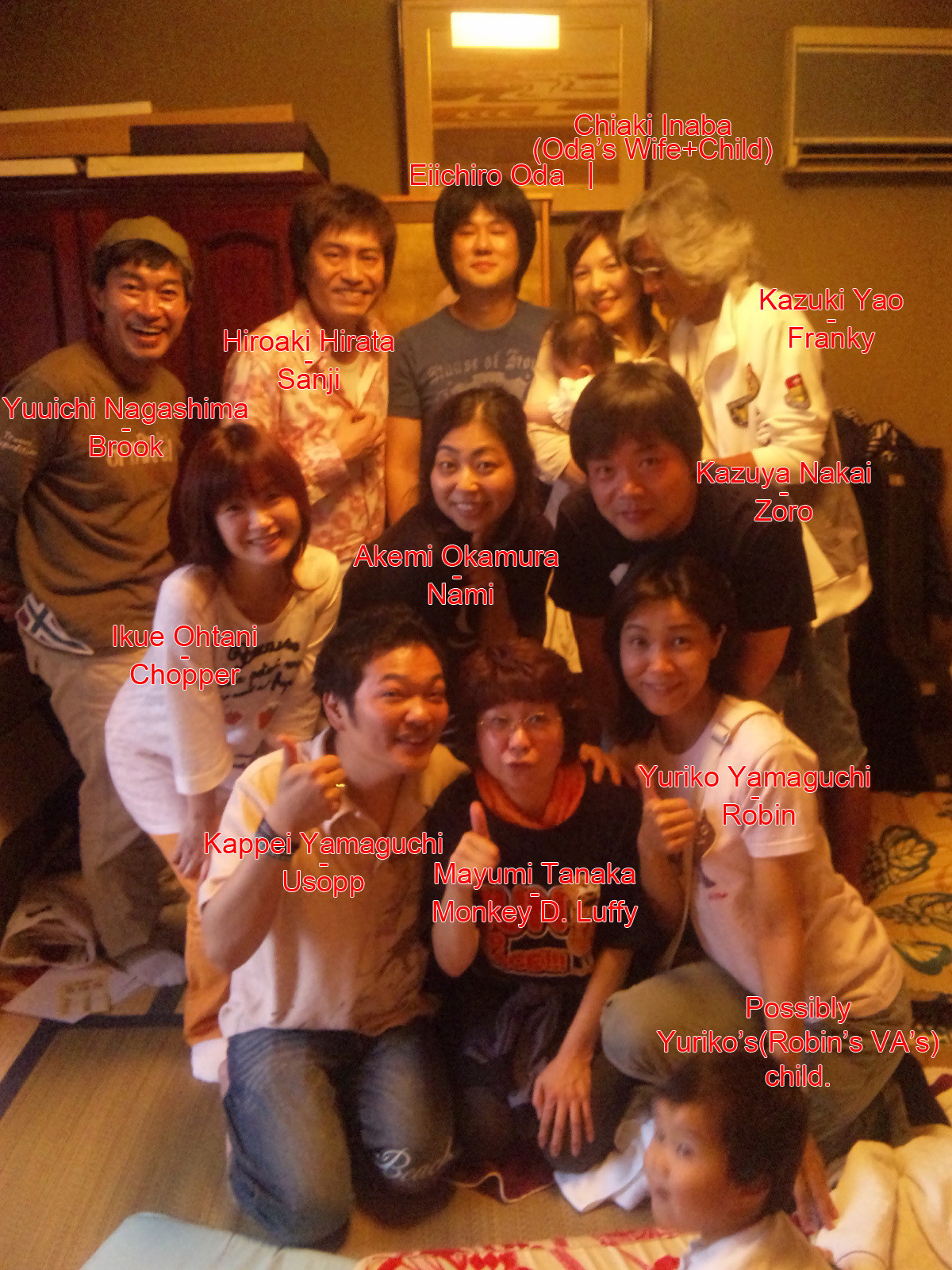 the cast. join list: onepiece (236 subs)Mention History.. Franky's VA looks like he dresses up as Franky