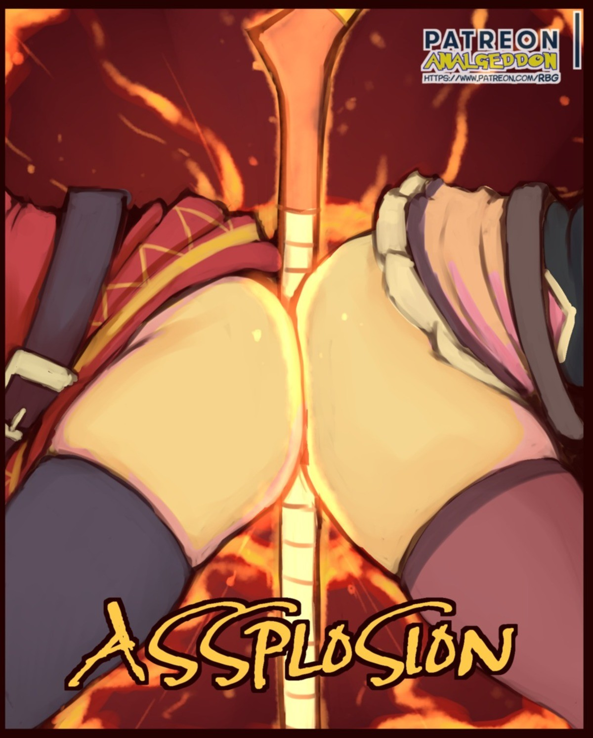 The Crimson Clan Makes Em Thicc. join list: AssMen (2878 subs)Mention History join list:. The only thing the word 'assplosion' makes me think of is violent diarrhea.