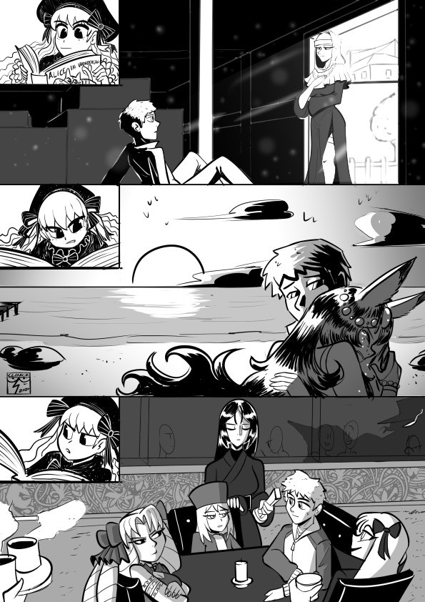 The Saga of Shirou's Summons. sagaofshiroussummons/ Fanart based on a fanfic you can read it here: join list: SeiginoMikata (31 subs)Mention History.. simply being involved in the grail war will put shirou on his path to self discovery. the only question is what he decides to prioritize in the end, and whos ch