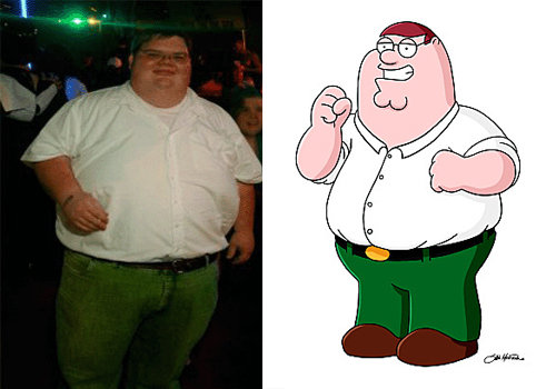 The Real Peter Griffin. .. just STFU about danny p and fat ben. old now find something else to be retarded about.