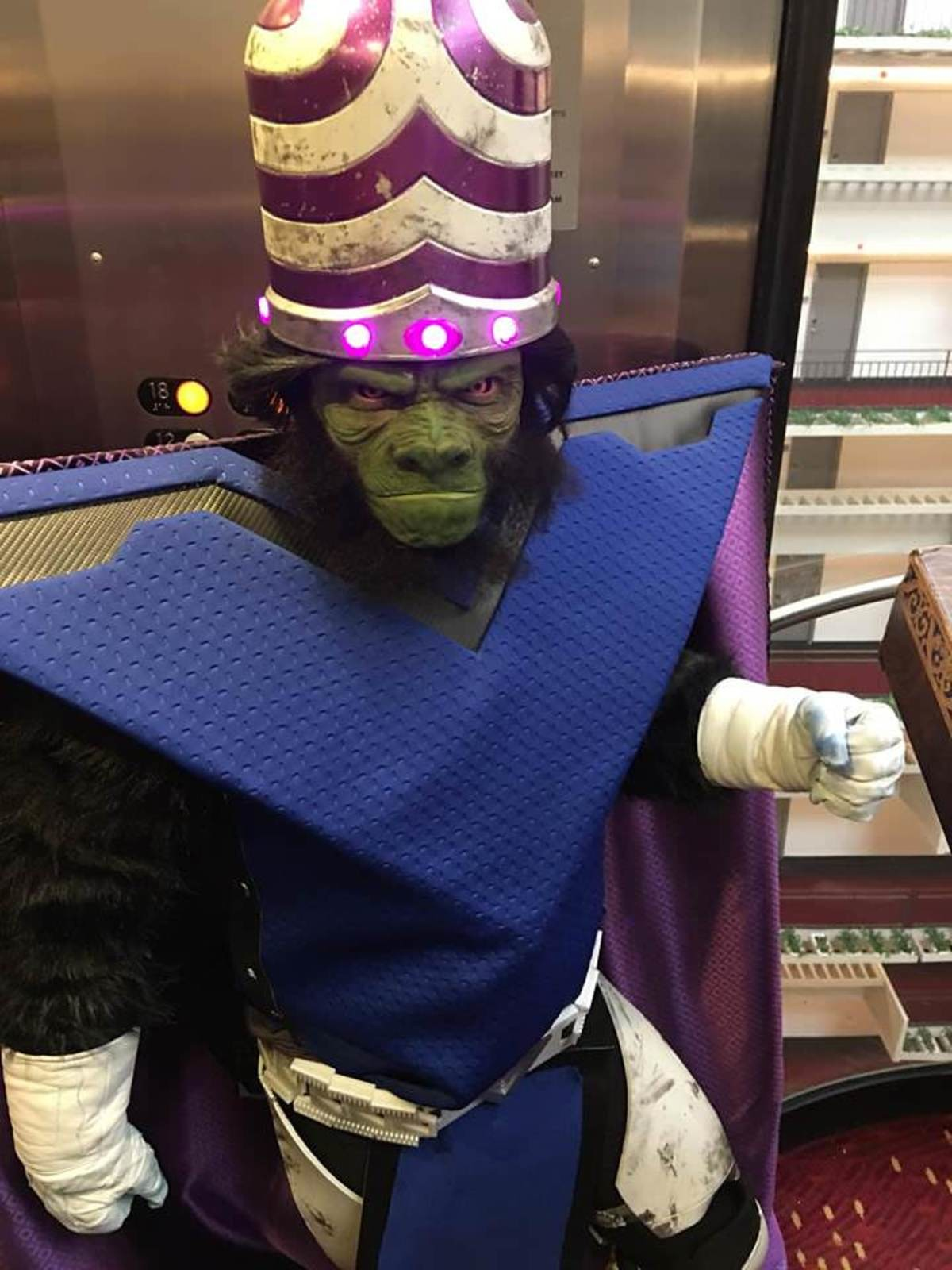 This Mojo cosplay. join list: CartoonsGalore (168 subs)Mention History.. That helmet is out standing i would love to hear this guy talk like mojo