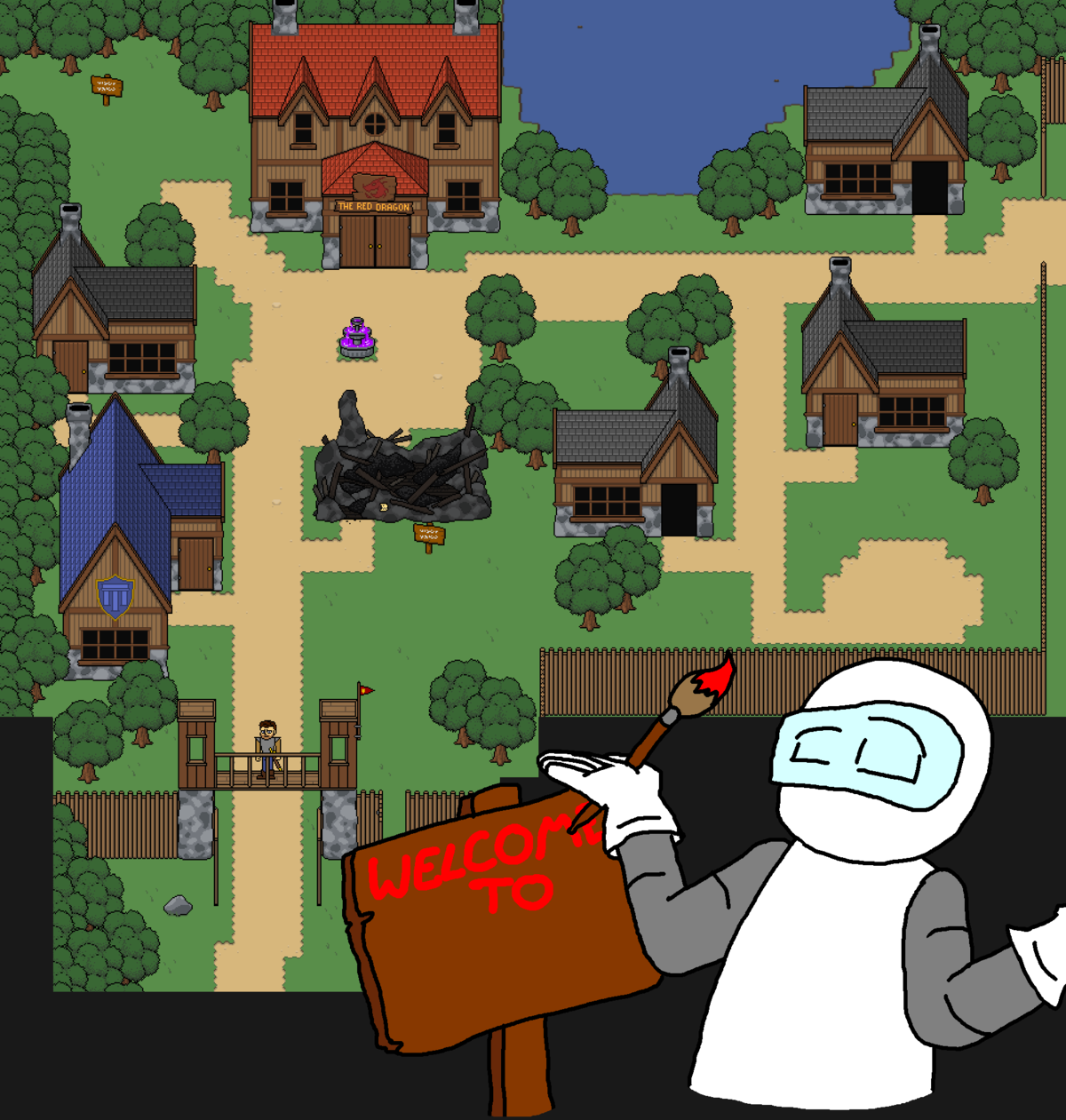 This town needs a name. and probably some other stuff as well, leave all suggestions for names and features in the comments down below join list: ChromedDragons