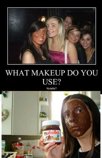 ThisHere. Use Nutella. WHAT MAKEUP DO YOU USE?