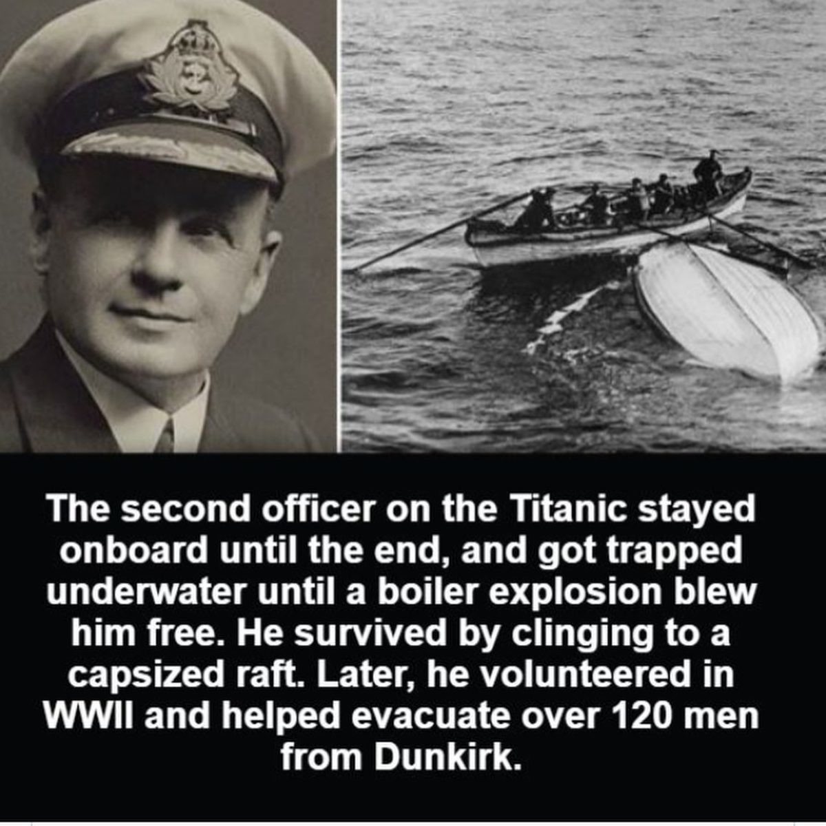 Unsinkable. .. Unpopular opinion about Titanic and Miracles of Dunkirk here, I don't mind the red thumbs and the blocks: Some brave and heroic people showed themselves on thos