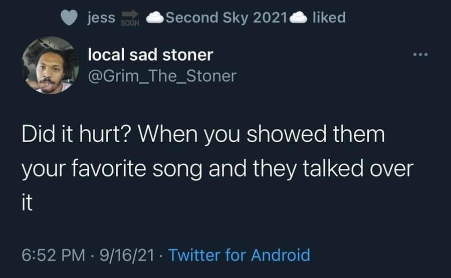 upbeat Gerbil. .. Not a lot of metal heads in my friend group, so I just don't talk music. If the mother are gonna be in my car though it's my music or they can walk.