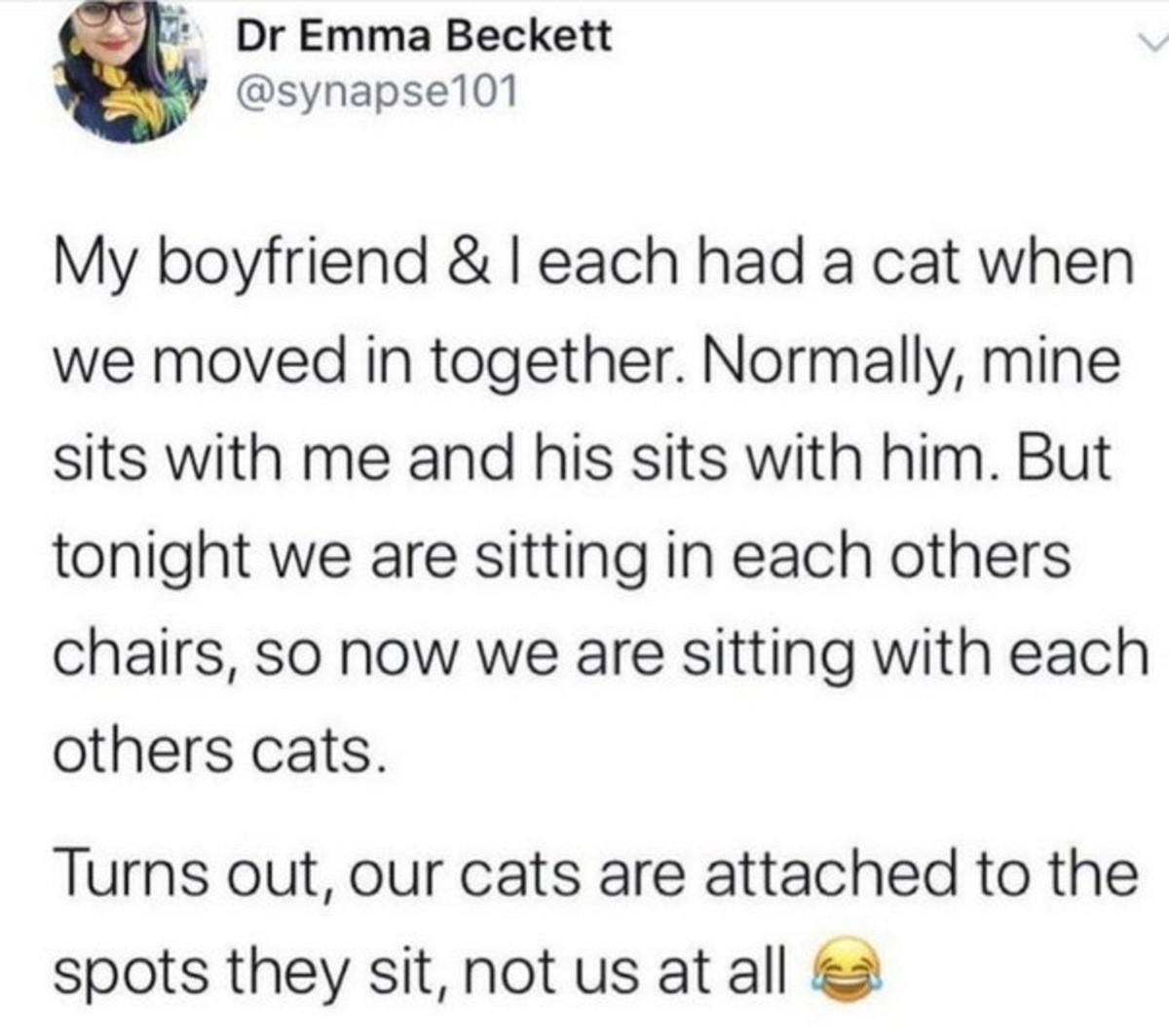 uptight Marten. .. Cats are naturally autistic