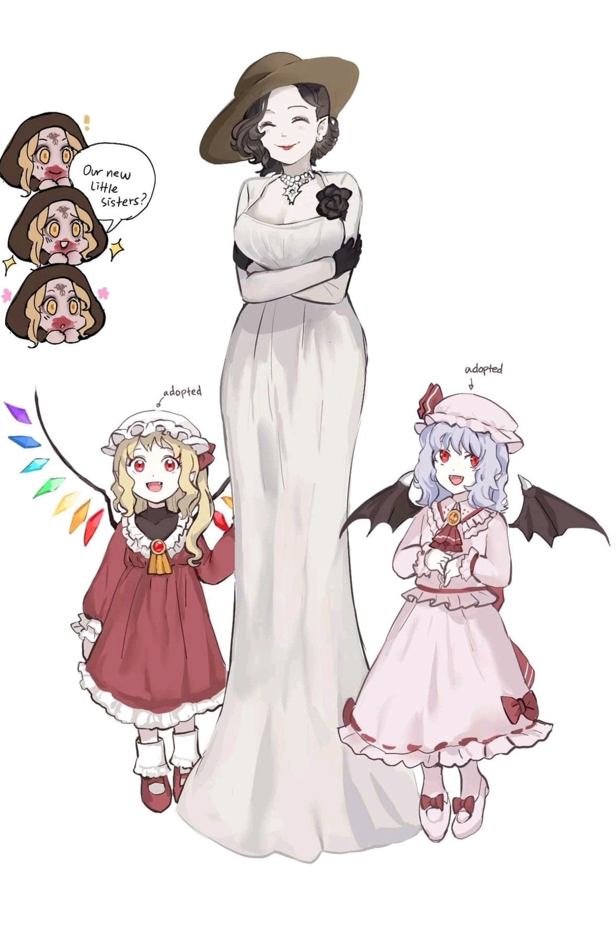 Vampire mommy. .. that is adorable