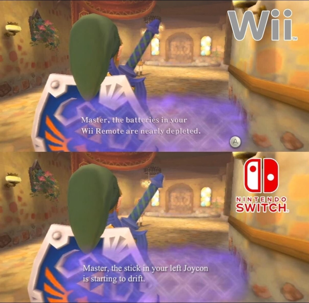 victorious Falcon. .. Nintendo didn't even acknowledge the Drift issues with Joycons.