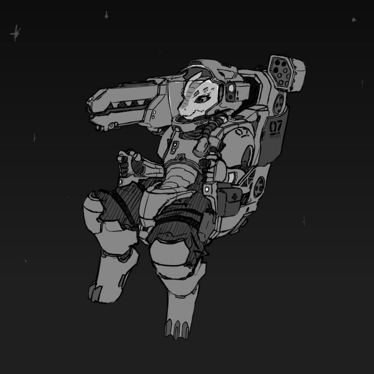 """Wanna go to Space. """"Hurr durr, kobolds aren't monster girls."""" I stopped caring fam, but post the image anyway... Off center gun. This is her when she shoots."""
