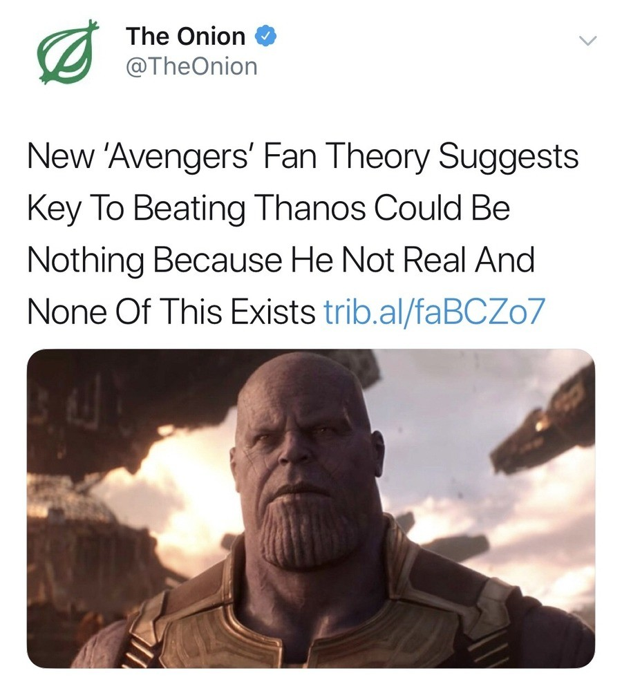 well that was uncalled for. join list: MarvelStuff (205 subs)Mention History.. next thing you know you're going to tell me that Infinity War was just a movie or some