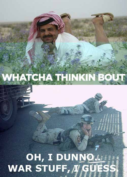 WHATCHA THINKIN BOUT?. .