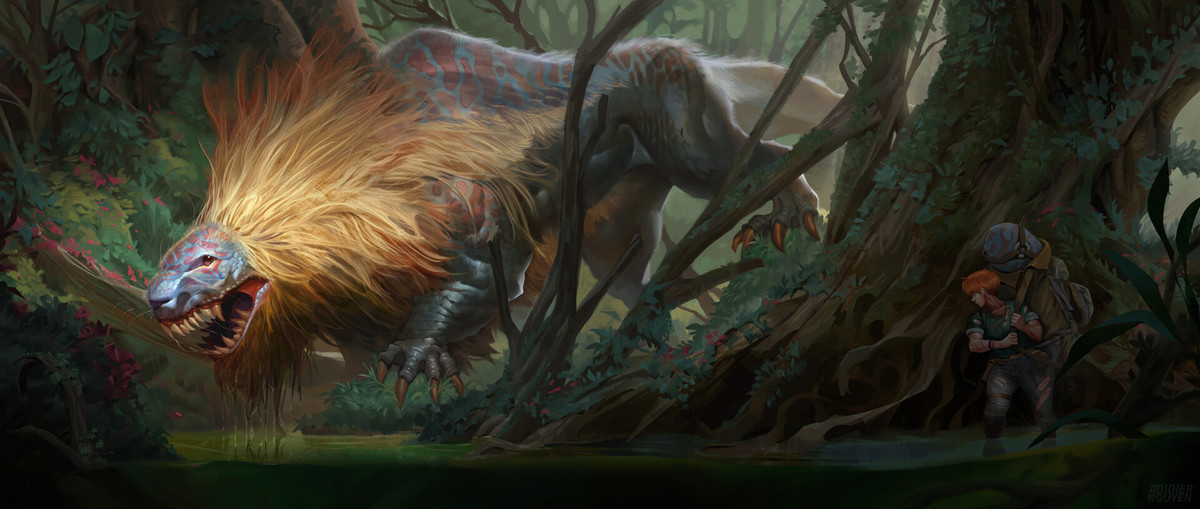 Where is the scent - Apex Predator by Didier Nguyen. .. All that xp