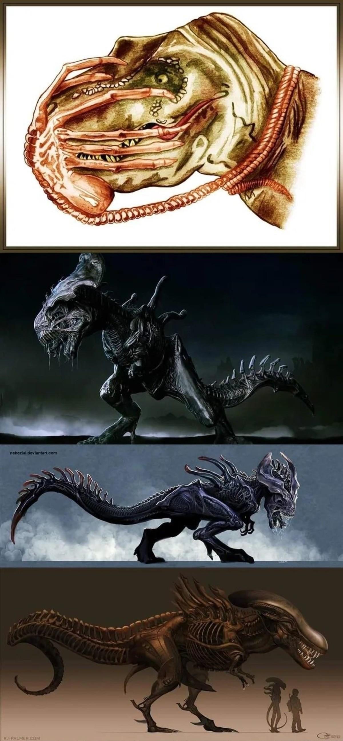 Xenomorphosaurus. .. Thank you for the accurate giant alien schlong