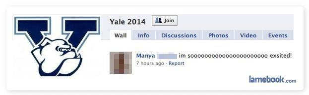 Yale. Don't worry, the future is in good hands. -.-. Yale any Walt Ink: Dian: Photos Vida: Errants Mariya .. 7 hours we . Hanan. YALE? MORE LIKE FAIL! PAHAHAHAHA posh laughter here