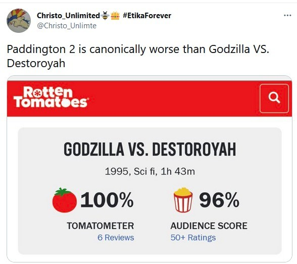 yes!. .. To be fair that movie is really good if you are a Godzilla fan. Movie where Godzilla melts down and becomes stupid powerful is an instant win. Comment edited at