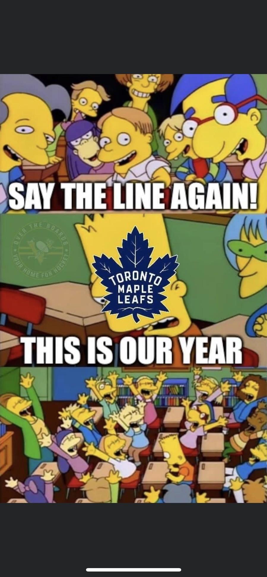 You'll start to slide in February. ..