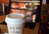 Being remembered at Starbucks