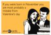 Born in November?