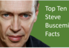 Buscemi Facts